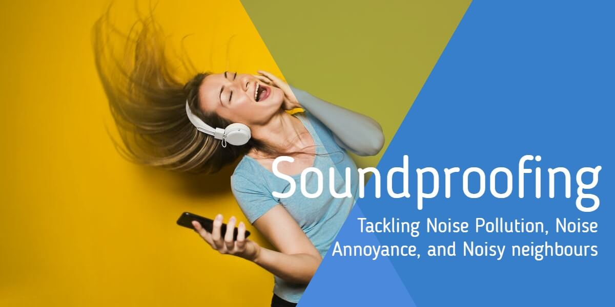 A 'noisy neighbour' singing loudly to music