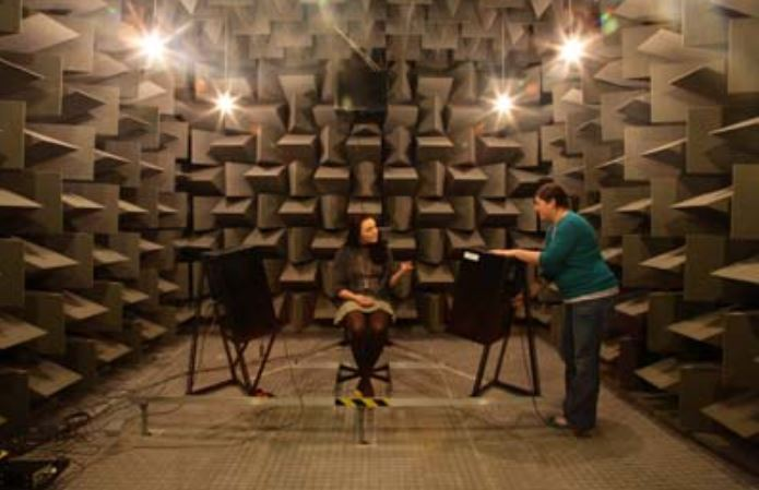 Soundproofing R Us Anechoic Chamber Courtesy of the University of Salford
